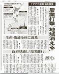 東京新聞20130412TPP試算3面