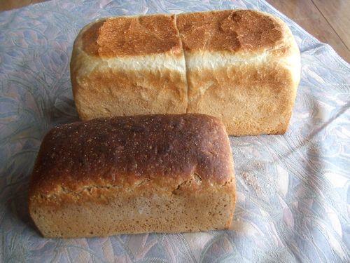 食パン、ライ麦の山食、及第