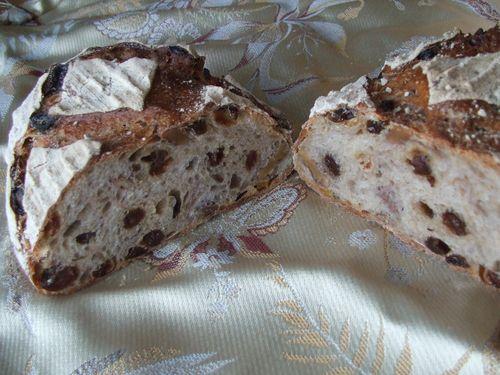 れーずんとくるみのパンの中身