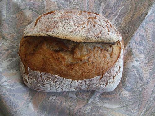 玉ねぎとじゃが芋のパン